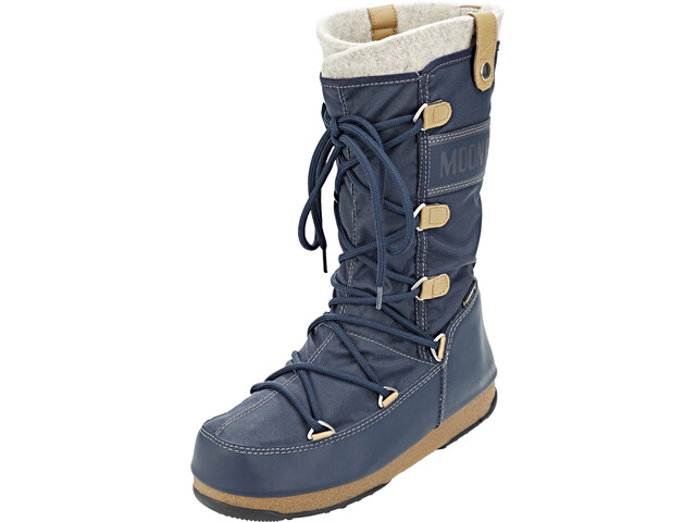 da3c5424ec Moon Boot Monaco Felt WP Stiefel Damen denim blue | campz.at